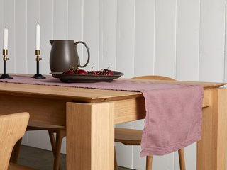 Parachute Washed Linen Table Runner
