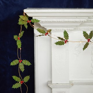 Terrain Holly Berry Garland