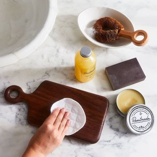 Roostmade Organic Cutting Board Care Set