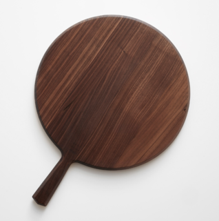 Edgewood Made Round Walnut Wood Board