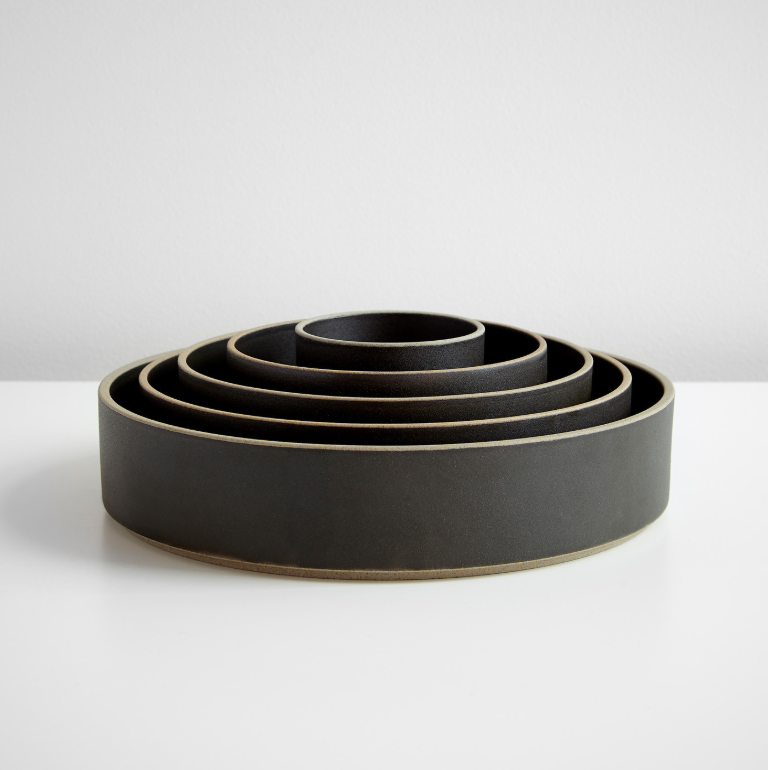 Photo 1 of 1 in Hasami Black Bowl Set of Five