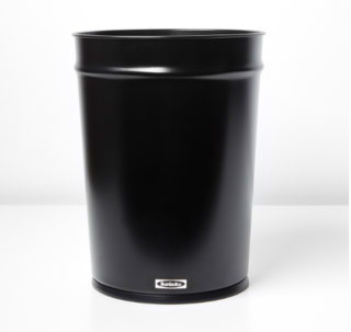 Bunbuku Black Waste Can