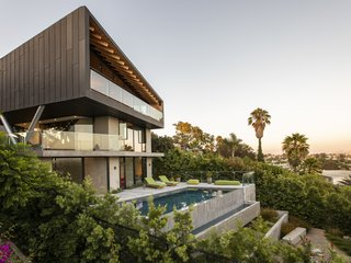 Architect Clive Wilkinson's L.A. Home Perches Over a Commanding View