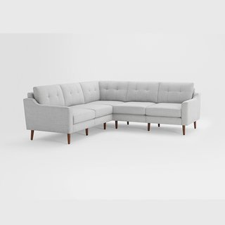 Burrow Nomad 5-Seat Crushed Gravel Corner Sectional
