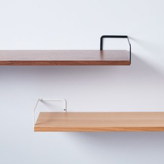 Yamazaki Steel & Wood Wall-Mounted Shelf