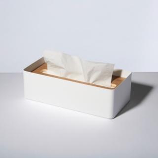 Rin White Tissue Case