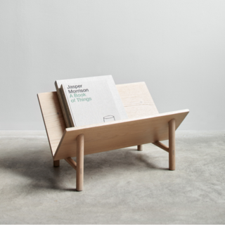 Rise Natural Bookstand
