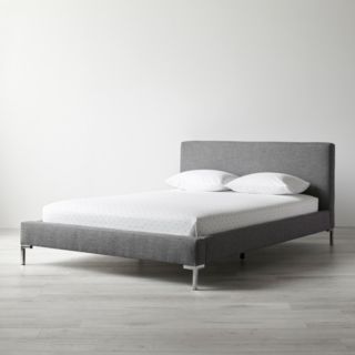 Elston Graphite Platform Bed
