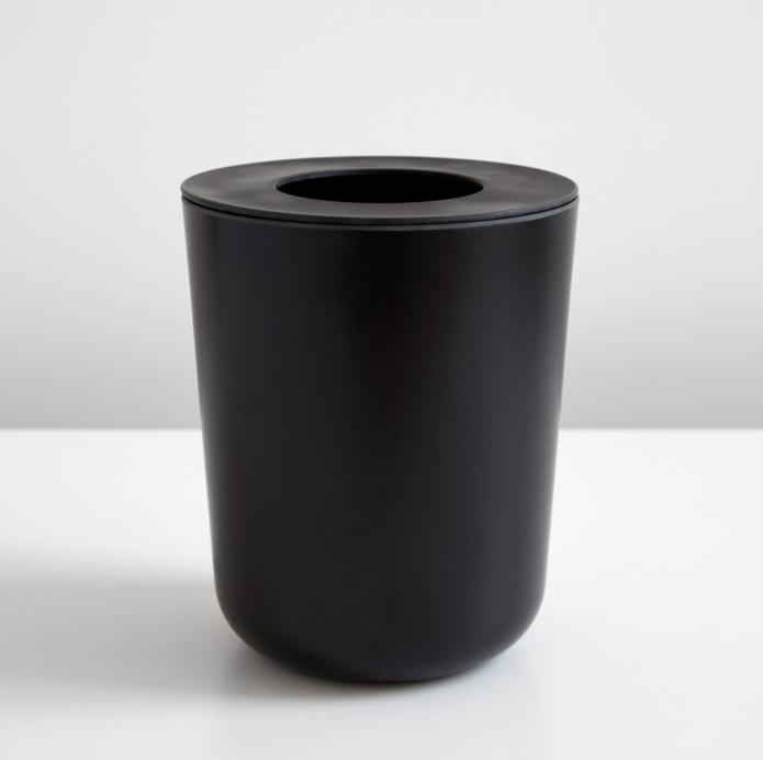 Ekobo Bano Black Waste Bin