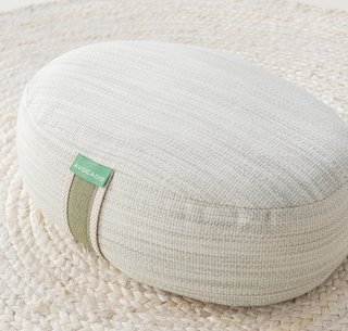 Avocado Green Meditation Pillow