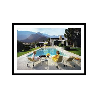 Poolside Glamour by Slim Aarons Art Print