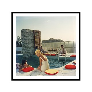 Penthouse Pool by Slim Aarons Art Print