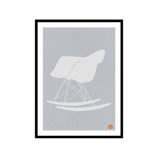 Eames Rocking Chair NaxArt Art Print