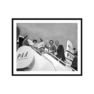 Passengers Board Panam Clipper Wall Art