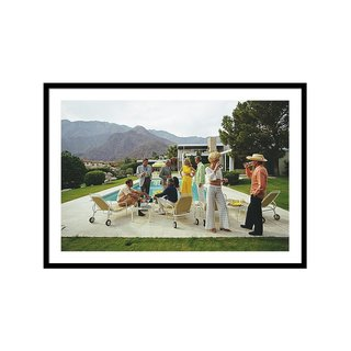 Desert House Party by Slim Aarons Art Print