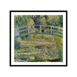 The Waterlily Pond With The Japanese Bridge by Claude Monet Wall Art