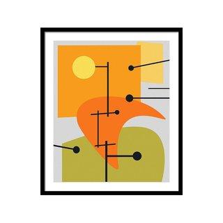 Juxtaposing Thoughts by Richard Rizzo Art Print