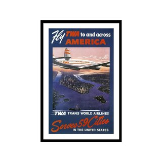 Trans-world Airlines 1950s by Granger Art Print