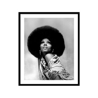 Diana Ross Portrait Session by Harry Langdon Art Print
