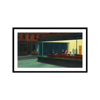 Nighthawks by Edward Hopper Art Print