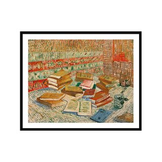 The Yellow Books by Vincent Van Gogh Art Print