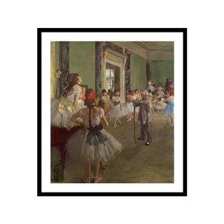 The Dancing by Edgar Degas Art Print
