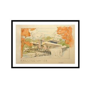 Fallingwater House by Juan Bosco Art Print