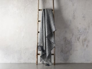 Arhaus Brushed Heathered Throw