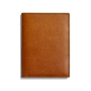 Shinola Harness Leather Passport Wallet