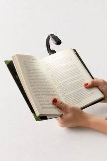 Kikkerland Design Rechargeable Clip Book Light
