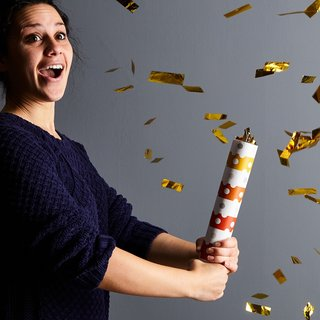 Fredericks & Mae Metallic Confetti Cannon (Set of 6)