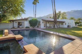 Silent Film Star Charlie Farrell's Historic 1934 Palm Springs Residence Lists for $3.7M