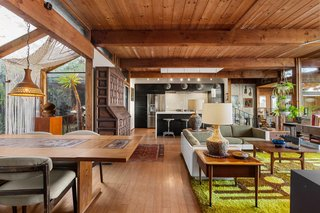Check Out This Vintage Post-and-Beam Near San Diego Asking $760K