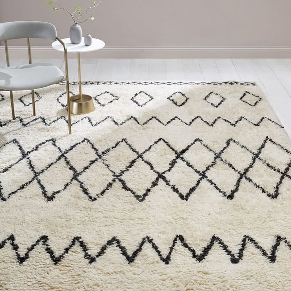 West Elm Kasbah Wool Rug