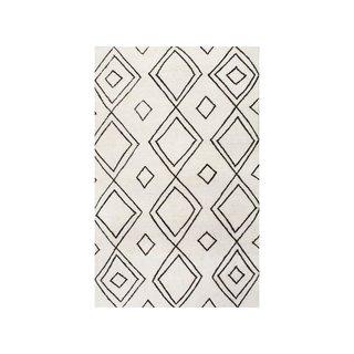 Rugs USA Vega Moroccan Diamond Wool Natural Rug