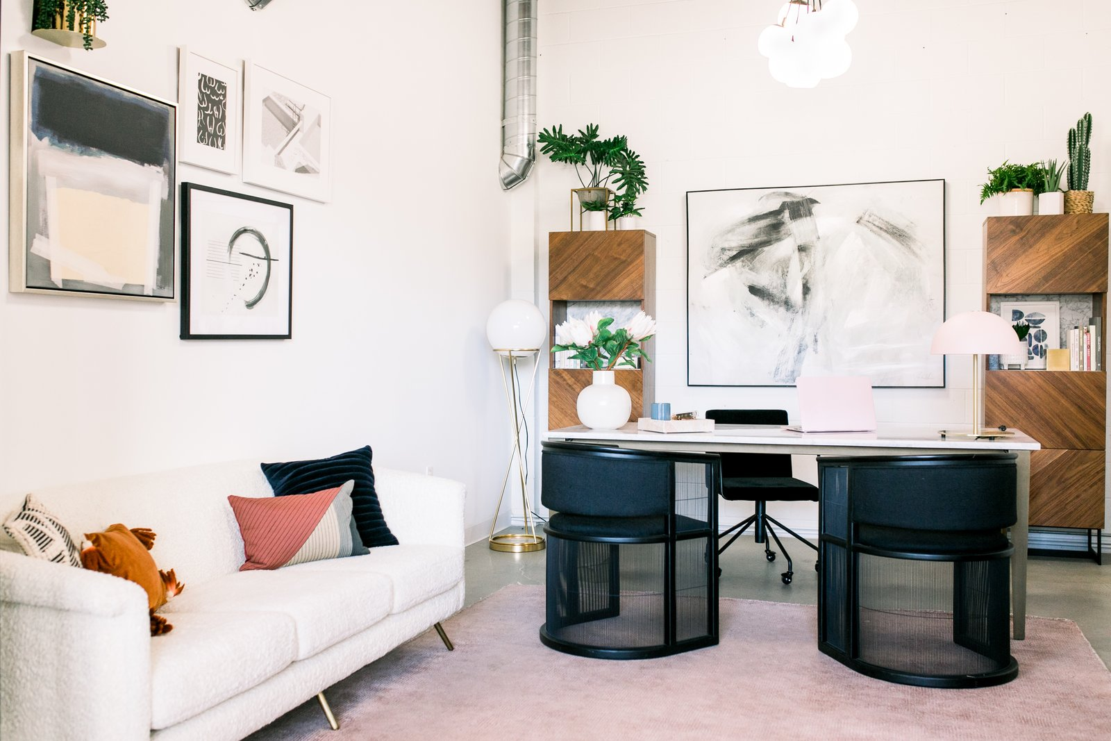 The Create & Cultivate Clubhouse Takes Millennial Pink to the Next Level
