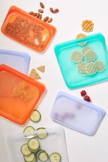 Stasher Medium Reusable Silicone Sandwich Bag