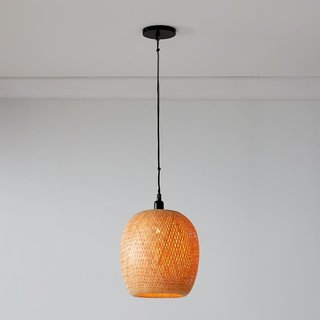 West Elm Bamboo Pendant