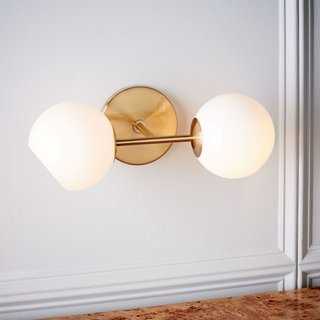West Elm Staggered Glass 2-Light Sconce