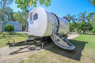 Move Freely About the Cabin—or the Country—in This $37K Airplane-Turned-Tiny House