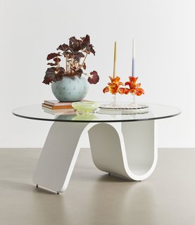 Urban Outfitters Bettie Glass Coffee Table
