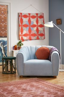 Urban Outfitters Juliette Tufted Velvet Chair