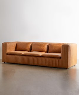 Urban Outfitters Mesa Leather Sofa