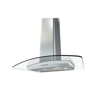Miseno 36 Inch Island Range Hood With Dual Halogen Lighting System