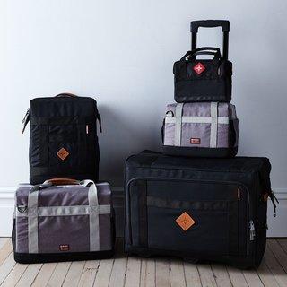 Barebones Living Structured Nylon & Leather Travel Coolers