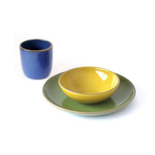 Heath Ceramics Kids Dinnerware Set in Fruit