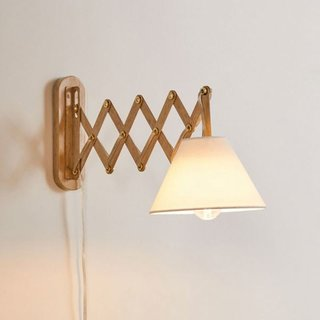 Urban Outfitters Kema Accordion Sconce