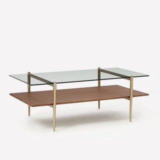 West Elm Mid-Century Art Display Coffee Table
