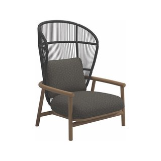 Gloster Fern Meteor Lounge Chair High Back