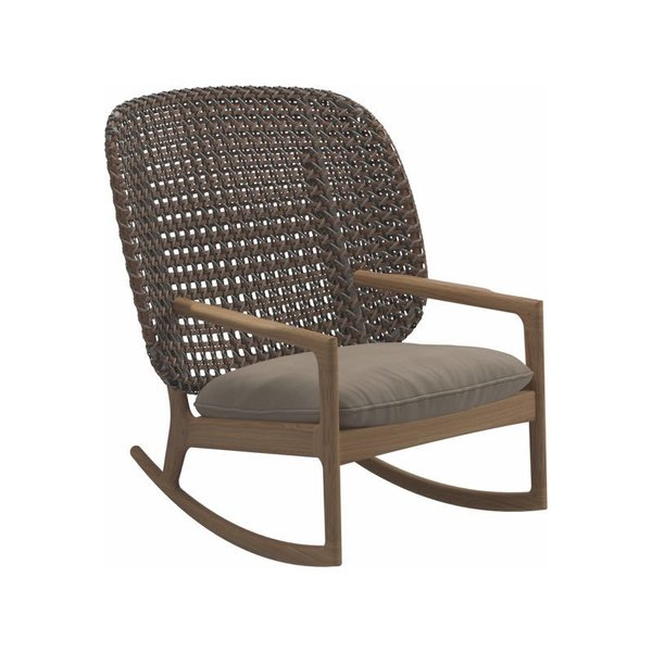 Gloster Kay High Back Rocking Chair